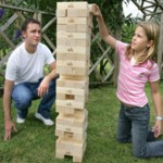 Giant Jenga | The Board Room Game Cafe